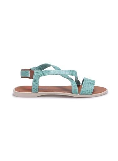 Carmens Sandalet Yeşil